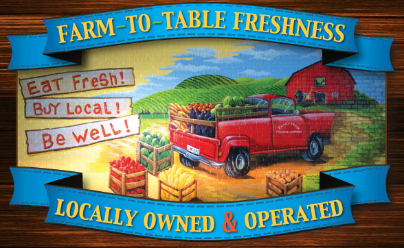 Berry Fresh Cafe Farm to Table Freshness